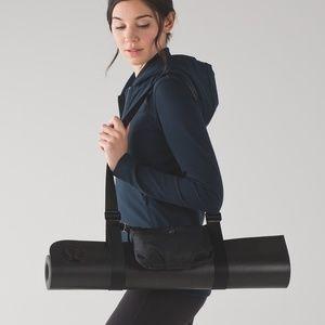 Lululemon Essential Mat Carrier Bag Black Removabl